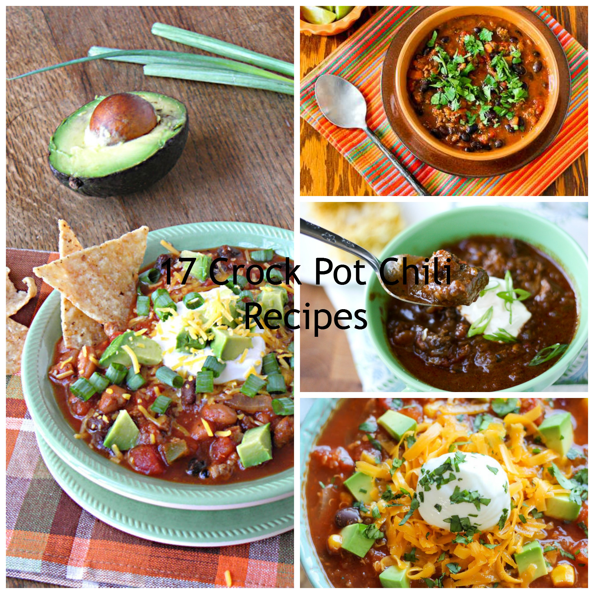 17crockpotchilirecipes