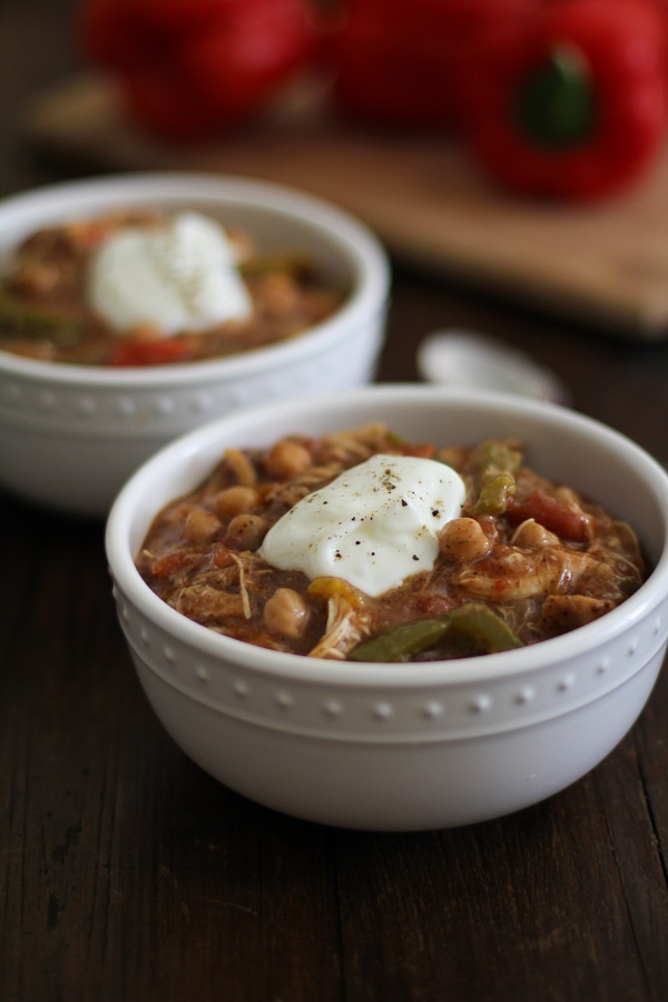 Crock_Pot_Shredded_Chicken_Fajita_Chili_2