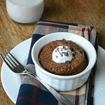 Single Serve Mint Chocolate Flax Muffin {Gluten & Sugar Free}