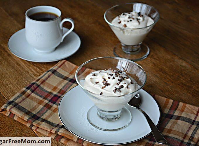 Sugar-Free Coffee Creme Mousse {Low Carb & Gluten Free}