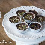 Mini Carob Candy Cups {Nut, Gluten & Sugar Free}