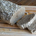 Grain Free Nut Free Sunflower Bread {Sugar & Gluten Free}