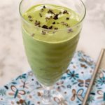 Minty Green Protein Smoothie {Dairy Free & Low Carb}