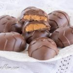 Sugar Free Chocolate Peanut Butter Easter Eggs {Dairy Free}