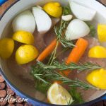 How To Make Lemon Poached Chicken & Low Sodium Broth