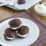 Sugar-Free Chocolate Oatmeal Whoopie Pies
