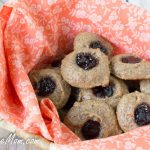 Flourless Peanut Butter & Jelly Cookies {Low Carb & Nut Free Option}
