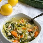 Keto Chicken Zoodle Soup {Low Carb & Gluten Free}
