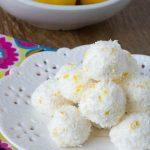No Bake Sugar-Free Lemon Truffles (Keto, Gluten Free)