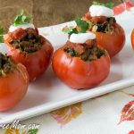 Taco Egg Stuffed Tomatoes