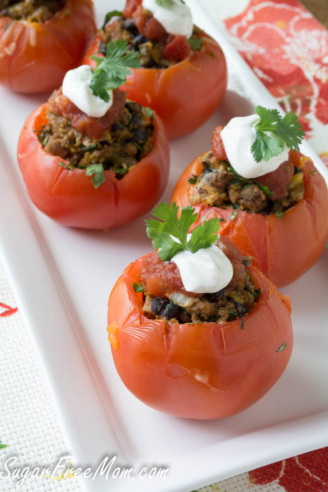taco stuffed tomato5 (1 of 1)