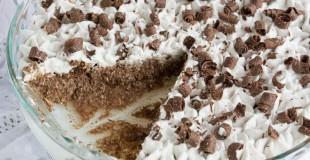 Sugar-Free & Dairy Free Chocolate Coconut Mounds Pie