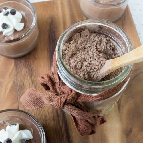 Instant Homemade Sugar Free Chocolate Pudding Mix
