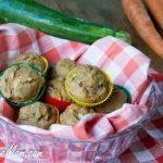 Sugar Free & Dairy Free Mini Carrot Zucchini Muffins
