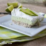 Sugar-Free No Bake Key Lime Pie Bars