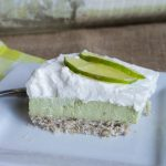 Sugar-Free No Bake Key Lime Pie Bars (Keto, Nut Free)