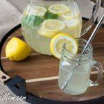 Sparkling Sugar-Free Basil Lemonade & An Ava Anderson Party