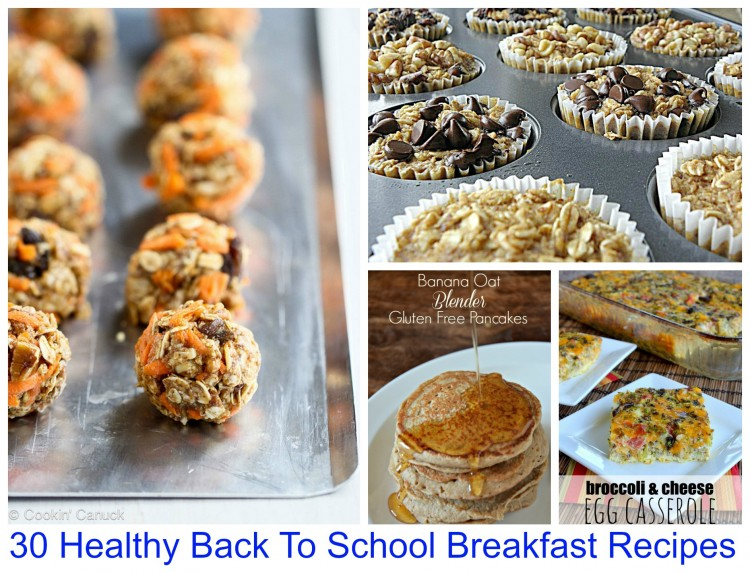 30 back to school recipes