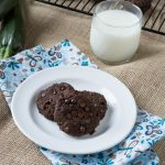 Sugar- Free Chocolate Fudge Zucchini Cookies