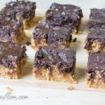 Grain Free & Sugar-Free Chocolate Peanut Butter Blondies