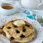 Gluten Free Wild Blueberry Buttermilk Pancakes