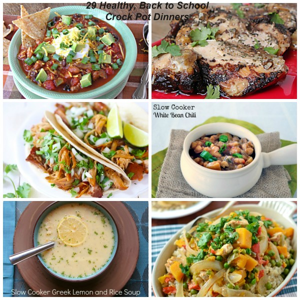 29 crock pot dinners