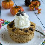 Sugar-Free Pumpkin Pie Chocolate Chip Mug Cake