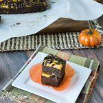 Grain Free Sugar-Free Pumpkin Cream Cheese Brownies