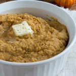 Keto Low Carb Pumpkin Cauliflower Mash