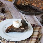 Low Sugar Low Carb Chocolate Pecan Pie