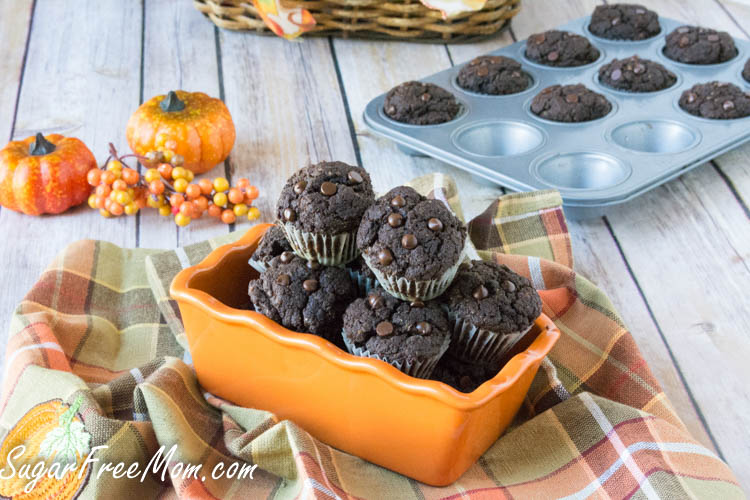 mini chocolate pumpkin cupcakes4 (1 of 1)
