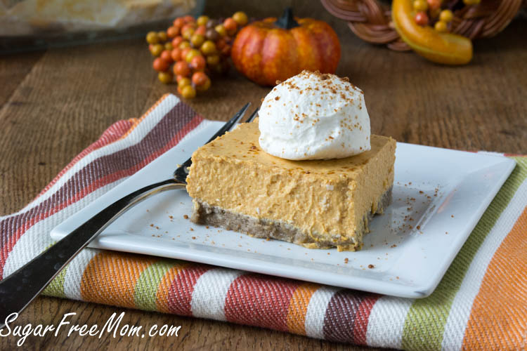 low carb sugar-free pumpkin cheesecake1 (1 of 1)