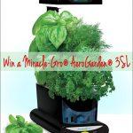 Miracle Gro Aerogarden 3 SL Give Away