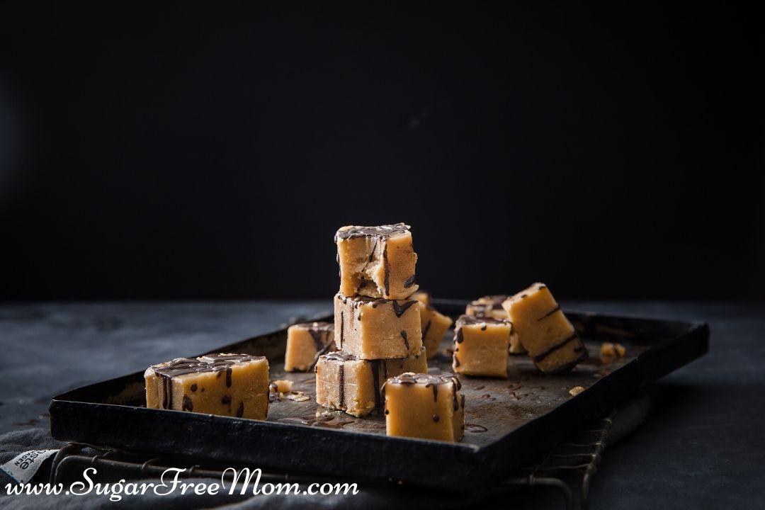 3 Ingredientes Fudge de Manteiga de Amendoim sem Açúcar 27