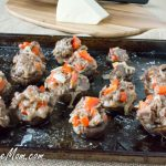 Philly Cheesesteak Stuffed Mushrooms