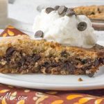 Sugar-Free Chocolate Chip Cookie Pie