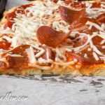 Grain Free Nut Free Low Carb Pizza