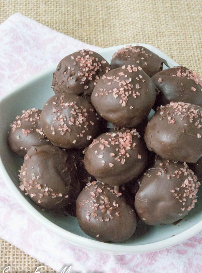 Sugar-Free Mint Chocolate Truffles