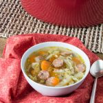 Crock Pot Andouille Sausage Cabbage Soup