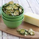 Homemade White Cheddar Cucumber Chips