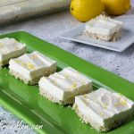 Sugar Free No Bake Lemon Cheesecake Bars