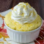 Sugar-Free Lemon Mug Cake