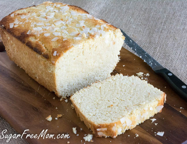 Coconut Cake Recipe Keto: Sugar Free Lemon Coconut Pound Cake {Low Carb And Grain Free}