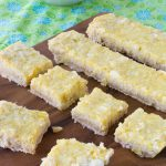 Sugar Free Low Carb Coconut Lime Bars