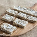 No Bake Sugar Free Coconut Cashew Protein Bars