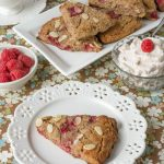 Grain Free Raspberry Almond scones