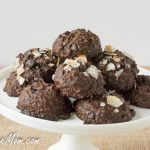 Flourless Sugar Free Chocolate Coconut Cookies