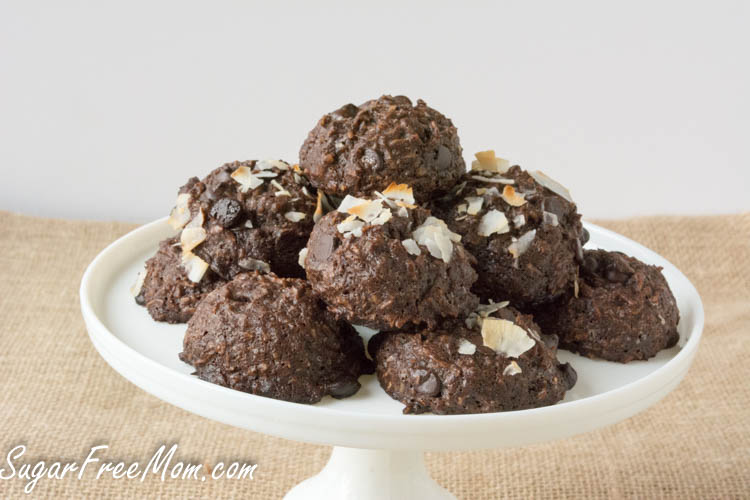 flourless chocolate coconut cookies3 (1 of 1)