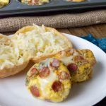 Low Carb Pepperoni Pizza Egg Muffins