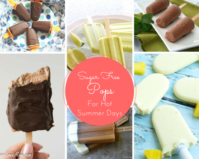 Sugar Free FrozenPops for Hot Summer